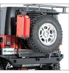 Rock Hard 4x4 Parts Rear Bumper/Tire-Carrier