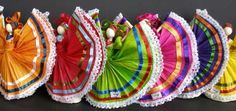 Mexican Folklorico Dance Costumes   Ballet Folklorico Doll