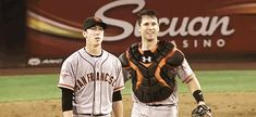 Buster did a number on all of our emotions after catching Timmy's no-no. | 28 Reasons Why Buster Posey Is A Dream Come True For Giants Fans