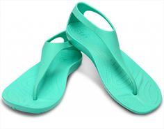CROCS Sexi Flip - dámske sandále ocean green