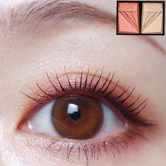 Edgy Makeup, Makeup Eye Looks, Cute Makeup, Gorgeous Makeup, Simple Makeup, Makeup Inspo, Korean Eye Makeup, Asian Makeup, Coral Makeup
