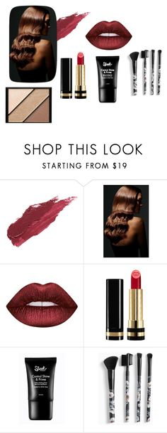 """Catch"" by mwellman-1 on Polyvore featuring beauty, Lily Lolo, BaByliss, Lime Crime, Gucci, Torrid and Elizabeth Arden"