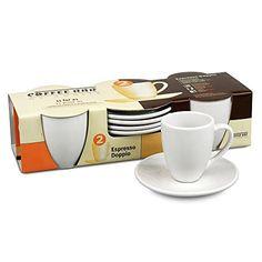 4er Coffee Bar No. 2 - Espressoset Doppio - Wei�