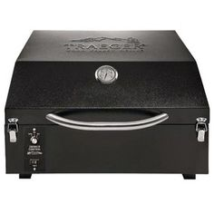 """Check out """"Traeger PTG Plus Portable Wood Pellet Grill"""" from Zettler Hardware. It is tailgating made easy!"""