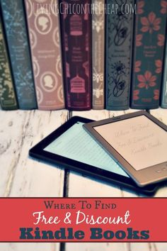 ***Where to Find FREE & Discount Kindle Books*** If you are looking for resources for Free and Bargain Kindle Books, I put together a quick resource guide for you. This is not comprehensive, but will definitely get you off to a good start. #eBook #Kindle