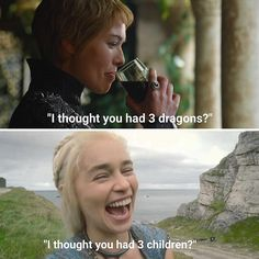 Funniest Game of Thrones Jokes & Memes - - Need some LOL in your life after watching a tense episode? Scroll through these funny Game of Thrones memes for a laugh…. Game Of Thrones Meme, Gsme Of Thrones, Dessin Game Of Thrones, Game Of Thrones Pictures, Game Of Thrones Cersei, Sansa Stark, Bran Stark, Maisie Williams, Game Of Throne Lustig