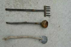 I promised to show you how we made our Zen Garden tools. We needed our trusty glue gun, our garden scissors, some sticks and twigs, an acorn cap and a shell. First, the rake. I used my garden scissors to cut a twig for the handle, a smaller twig for the rakes head and 5If you want to read more...click here