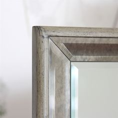 Dressing Table Mirror with Antique Trim