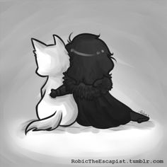 _Home_ by RobicTheEscapist---- Jon Snow and Ghost