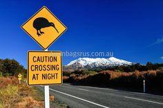 kiwi road sign with mount ruapehu tongariro national park north island new zealand Cool Bean Bags, Kids Bean Bags, Commonwealth, Facts For Kids, Fun Facts, Air Tahiti Nui, Blockchain, Mount Ruapehu, New Zealand Cities