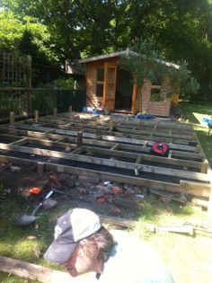 building the summerhouse