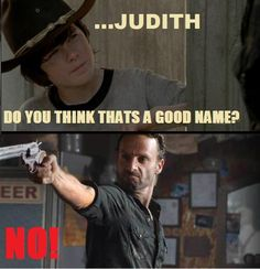 A baby named Judith?