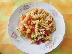Těstovinový salát s kuřecím masem Pasta, Ethnic Recipes, Author, Pasta Recipes, Pasta Dishes