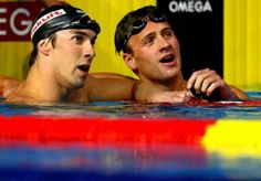 Michael Phelps and Ryan Lochte!