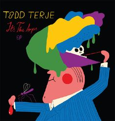 Norwegian duo DJ Todd Terje and artist Bendik Kaltenborn - Bendik's been cracking out spectacular designs, posters, comics and illustrations for years and has spent his time of late designing album artwork for Todd.