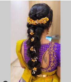 Bridal Hairstyle For Reception, Bridal Hairstyle Indian Wedding, Bridal Hair Buns, Bridal Braids, Bridal Hairdo, Braided Hairstyles For Wedding, Wedding Updo, Braided Updo, Indian Hairstyles For Saree