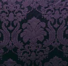 Eggplant Damask Table Linen Rental for your Party, Wedding or Event at Linen Effects
