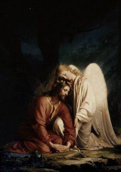 Christ at Gethsemane by Carl Heinrich Bloch