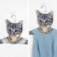 Cat face hangers. Shut Up and Take My Money!