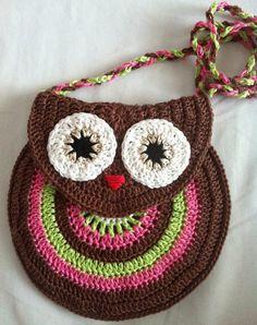 Owl Purse - Free Pattern