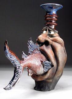 Face Jugs by Mitchell Grafton - Grafton Pottery