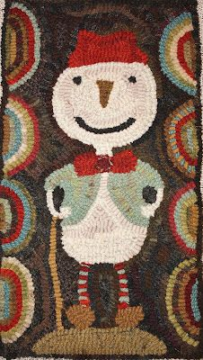 Star Rug Company -- Simply primitive & sweet designs by Maria Barton