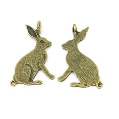 * Penny Deals * - Qty:1PC Antique Bronze Jewelry Making Charms Findings Supplies Craft Ancient Repair Lots DIY Antique Pendant Vintage Z71056 Rabbit >>> Want to know more, click on the image.