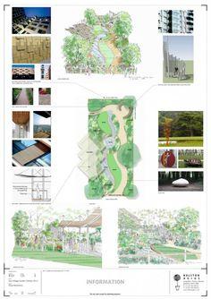 East Village Chelsea Flower Show garden: Balston Agius Chelsea Flower Show sketch