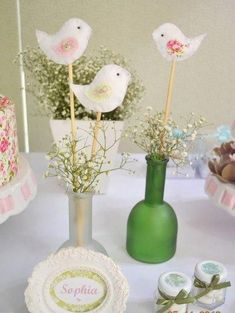 Little Big Company   The Blog: Beautiful Bird Themed Baptism by Invento Festa