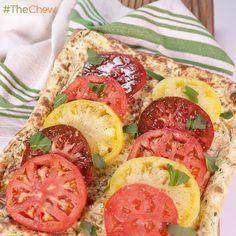 Tomato & Ricotta Tart by Michael Symon! #TheChew