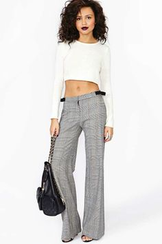 Armani Check In Pant