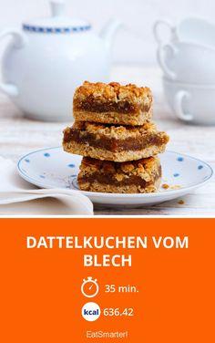 Dattelkuchen vom Blech - smarter - Zeit: 35 Min. | eatsmarter.de