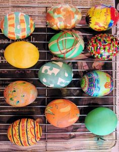 27 Awesome ways to dye, decorate & display easter eggs.<3<3