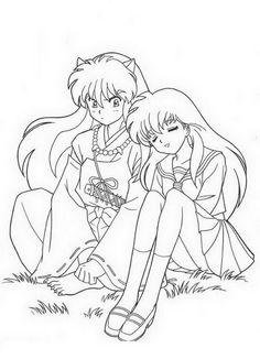 Manga Ausmalbilder. Malvorlagen Zeichnung druckbare nº 2