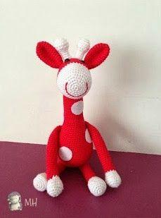 Do you like my Giraffe Amigurumi? Looking online amigurumi pattern I found a very nice amigurumi giraffe, but the pattern was not fo. Crochet Giraffe Pattern, Crochet Amigurumi Free Patterns, Crochet Dolls, Amigurumi Tutorial, Free Crochet, Amigurumi Giraffe, Amigurumi Doll, Stitch Head, Stuffed Toys Patterns