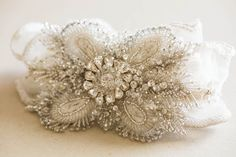 Designer handmade Wedding Garter - Style R38