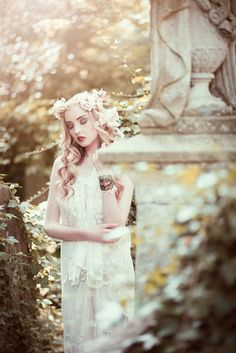 Nancy at Abney Cemetary 1 by Arif Akhtar on 500px  Credits:  Model: Nancy at Profile Models Styling/Designer: Susan Lafica at Fiori Couture Asistant: Chanel Bohn Makeup and Hair: Monika Swiatek Mua Photography: Me( Arif Akhtar)  #woman #girl #female #white #dress #outdoor #dreamy #sun #summer #flowers #floral #photo #photography #fashion #arif #akhtar #cemetary #statue #fiori #couture