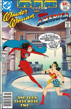 Super-Team Family: The Lost Issues!: Wonder Woman and Miss America