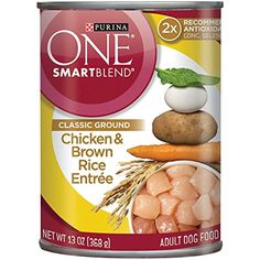 Purina ONE SmartBlend Classic Ground Wet Dog Food - (12) 13 oz. Cans ~ You could find more details by visiting the image link. (This is an affiliate link and I receive a commission for the sales)