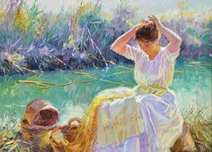 Painting by Juan Gonzalez Alacreu -