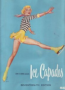 1950's Ice Skating