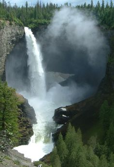 Wells Gray Provincial Park in British Columbia, Canada