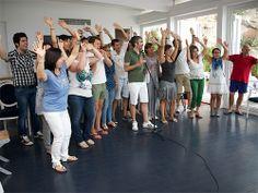 team building coro d'impresa