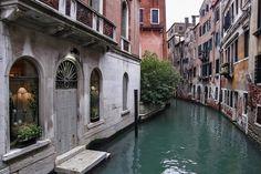 Csatorna, Canal in Venice Venice Italy