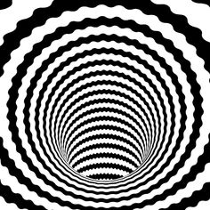 Design Movements - Op Art - Everything you Need to Know. Optical Illusions Pictures, Optical Illusion Gif, Illusion Pictures, Funny Illusions, Op Art, Cool Animated Gifs, Cool Animations, Illusion Kunst, Illusion Art