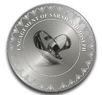 Wedding Coins Engagement Imprinted With A Unique Delight That Enhances The