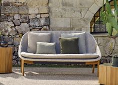 Tribu Tosca Garden Club Chair - Tribu Outdoor Furniture At Go Modern Outdoor Furniture Sofa, Modern Garden Furniture, Furniture Market, Outdoor Sofa, Outdoor Decor, Scatter Cushions, Seat Cushions, Garden Sofa, Garden Club