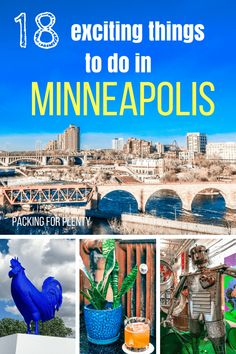 The Twin Cities are one of my favorite places in the country, but I didn't always think that. I thought they were SO boring until I moved here! If you're up visiting or just looking for ways to explore your town, I have a great list of 18 fun things to do in the Twin Cities. via @Packing for plenty