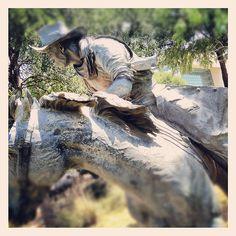 Longhorns Sculpture Pioneer Plaza Cattle Drive Dallas Texas