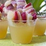 Sparkling celebration punch...Made it for a wedding shower, it was really good!!